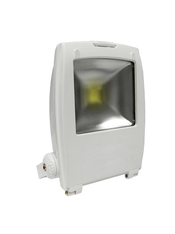 Proiettore Led Bianco 230V 50W Bianco Caldo Mod. Ap50Bc_Cod. 930196_AlcaPower