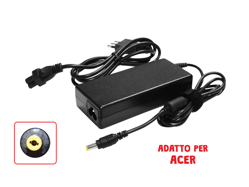 Adattatore Asus 19V 2.1A 2.5*0.7Mm Mod. As19V2.1A_Cod. 951057_AlcaPower