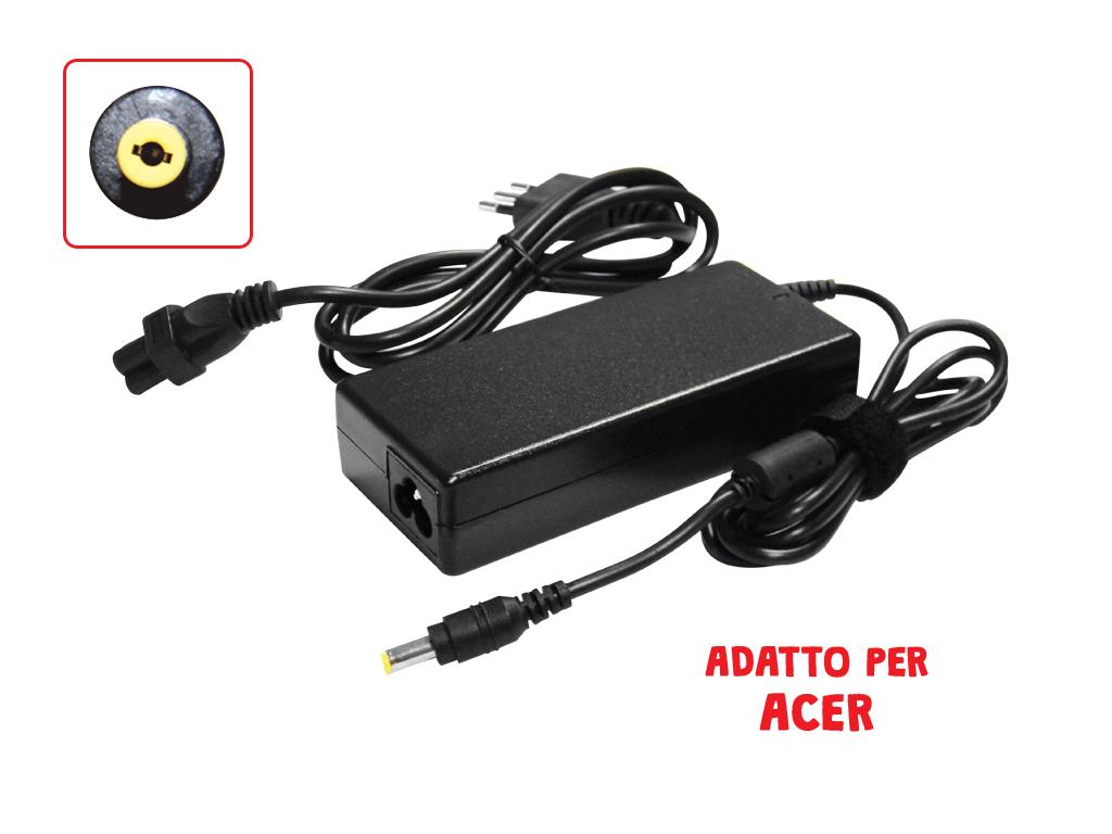 Adattatore Acer Extensa 19V 4.74A 90W 5.5*1.7 Mod. Ac19V4.74A-17_Cod. 951064_AlcaPower