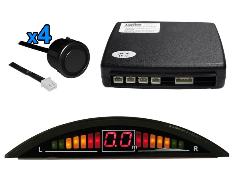 Sensori Di Parcheggio - Silver Mod. Ap2616-S_Cod. 970050_AlcaPower