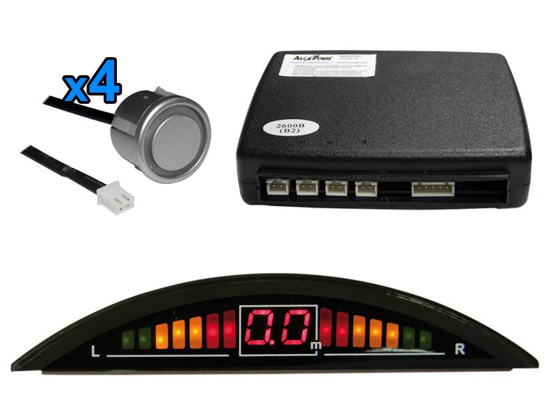 """Specchietto Retrovisore Con Monitor 7"""" Integrato Mod. K-M7005_Cod. 970053_AlcaPower"""