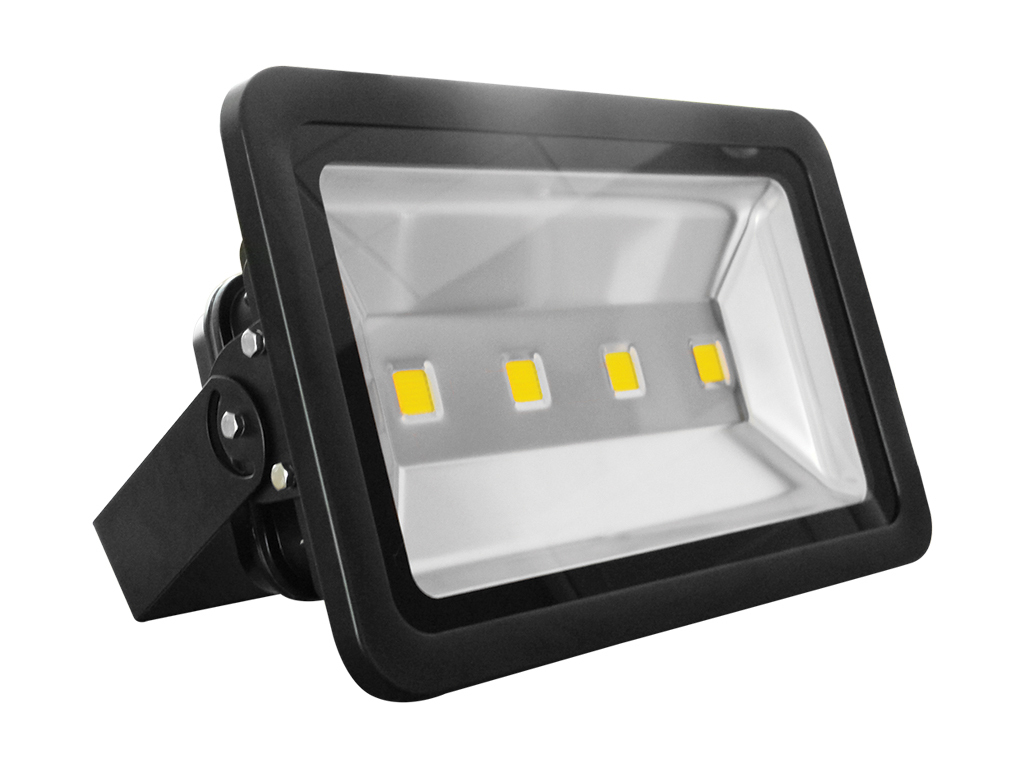 Proiettore Led 230Vac 30W Ip65 1 Led Nero - Bianco Naturale-Pir Mod. Ap30Fns_Cod. 930101_AlcaPower