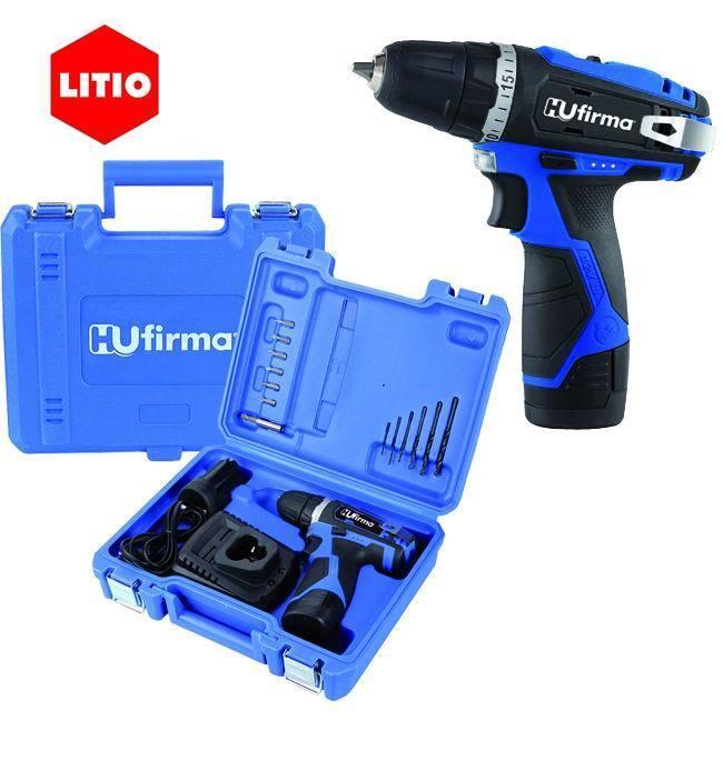 Trapano Litio 2 Batterie 12 V._Cod. 9010010_HU-Firma