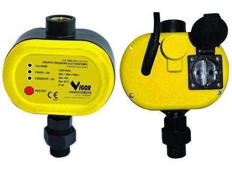 GRUPPO PRESSIONE VIGOR V-GPE Cod.7556515 - Blinky