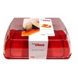 Portaformaggio rettangolare Plastica Rosso 13875055 Cod.9031006 - Guzzini