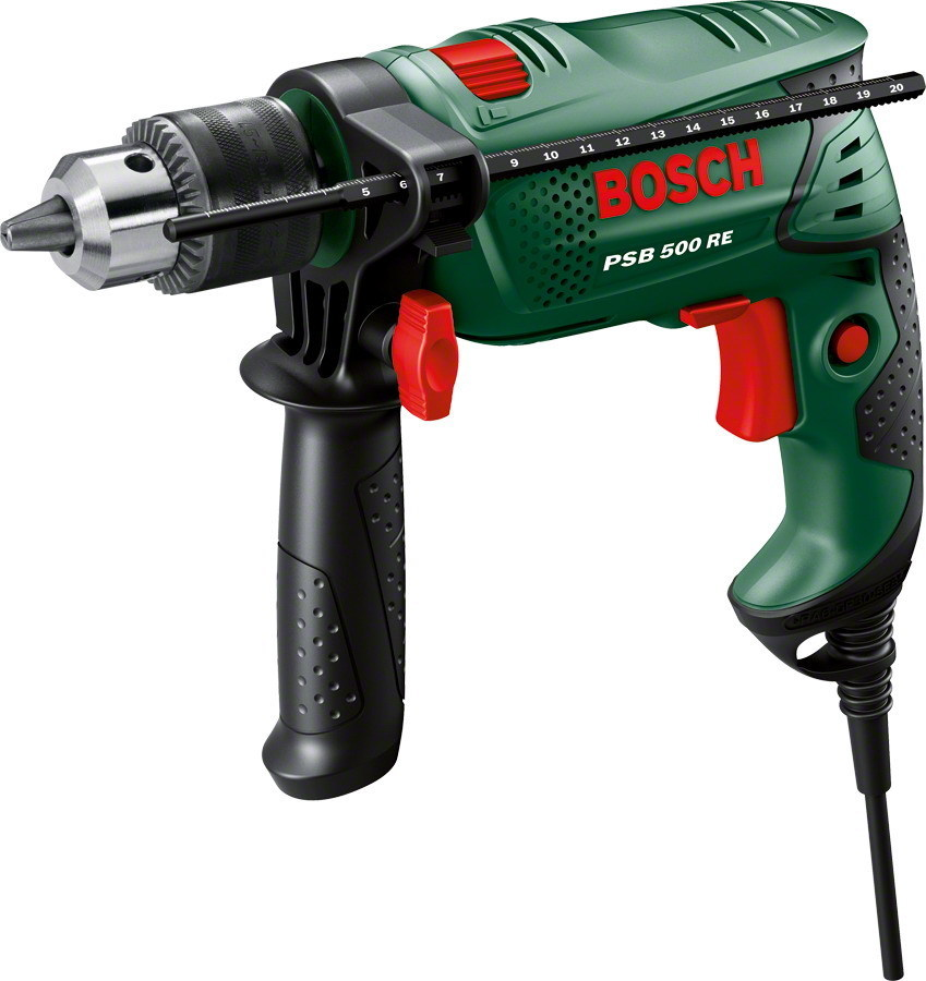 TRAPANO PSB 500 RE EASY-AUTO - 500 WATT Cod.8910020 - Bosch