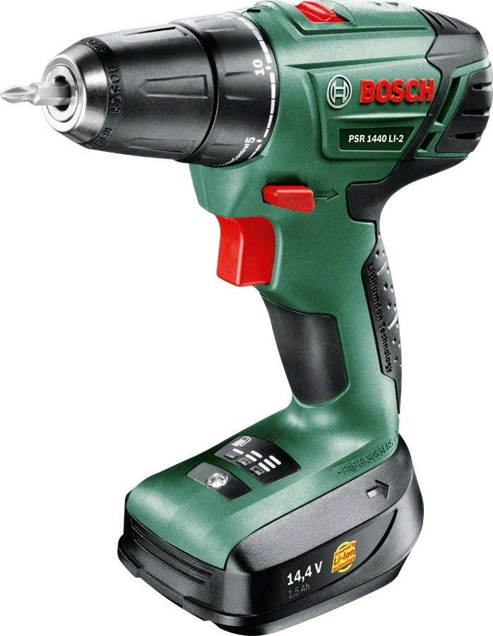 TRAPANO PSR 1440 LITIO 14,4 VOLT  Cod.8910076 - Bosch