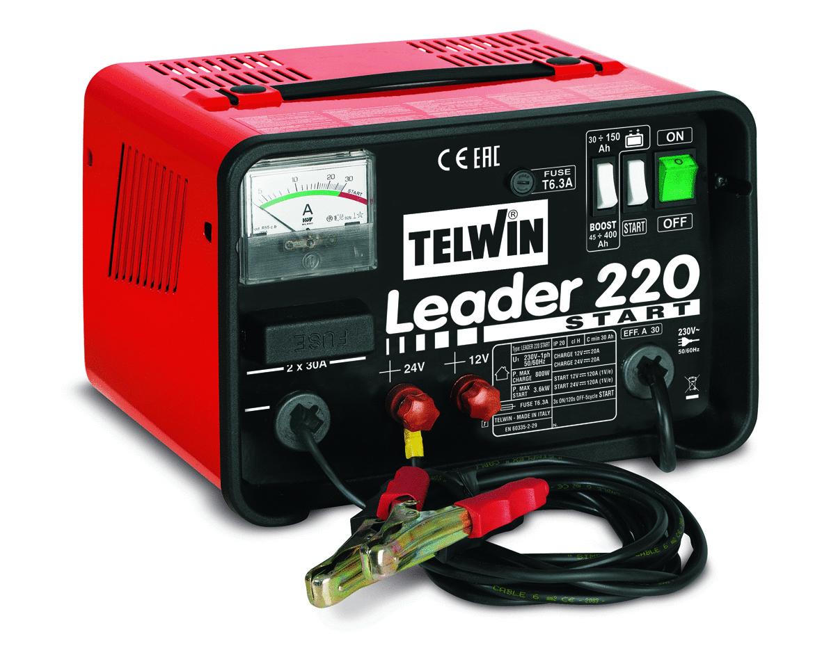 Caricabatterie Avviatore Leader 220 Cod.807539 - Telwin