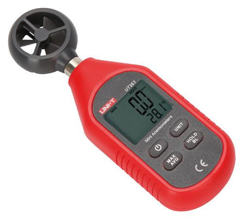 ANEMOMETRO UT-363 MINI DIGITALE 0÷45M/S          Cod.530134372 - Mkc