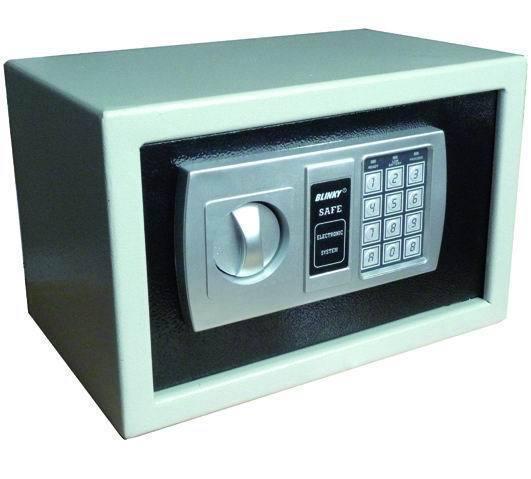 CASSEFORTI BLINKY HOTEL BK-SAFE ELETTRONIC 20X31X20  Cod.2716210 - Blinki