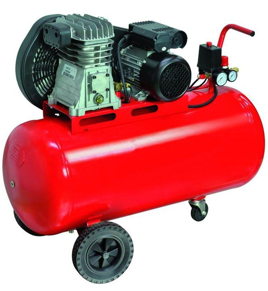COMPRESSORI 220V 2 CIL/CINGHIA 2HP LT. 100  Cod.5635040 - Vigor