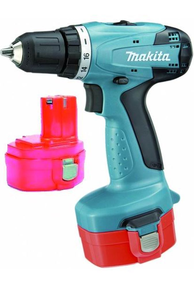 Trapano 8281 Dwae - 2 Batterie -14,4 Ni-Cd_Cod. 8951212_Makita