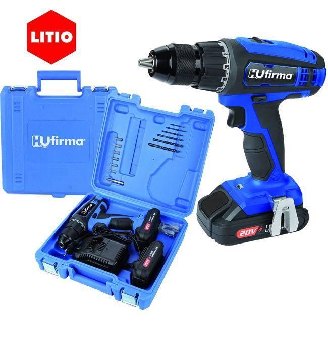 Trapano Hu-T20 - Litio 20 V. - 2 Batterie_Cod. 9010015_HU-Firma