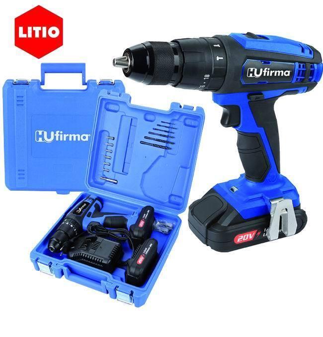 Trapano Hu-T20P -Litio 20 V. - 2 Batterie_Cod. 9010020_HU-Firma