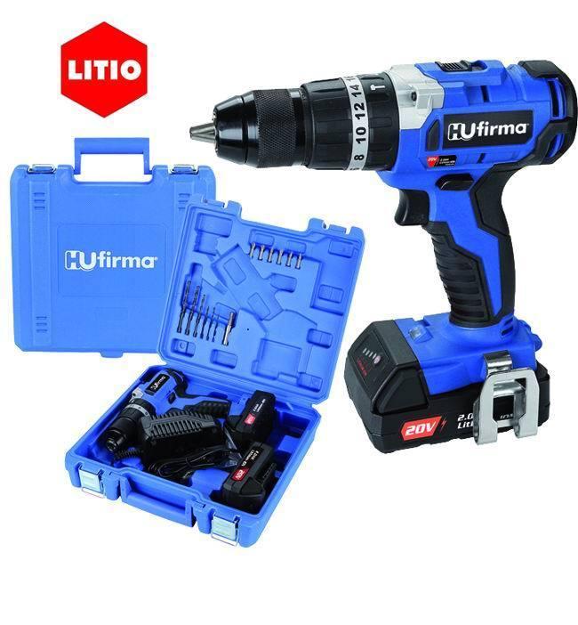 Trapano Hu-T20B - Litio 20 V. 2 Batterie_Cod. 9010030_HU-Firma