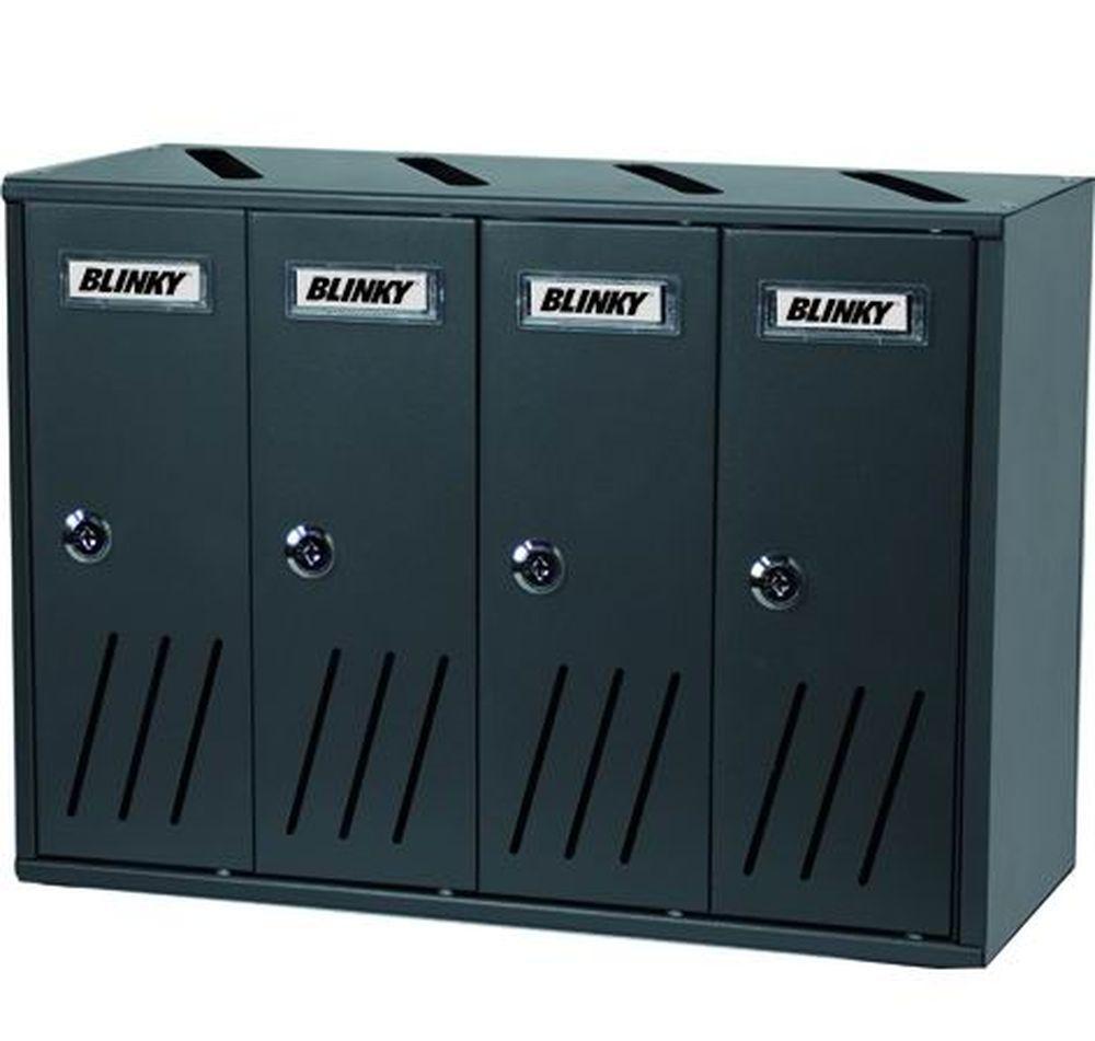 CASELLARI POSTALI   ALU ANTRACITE K4 BOX Cod.2735840 - Blinky