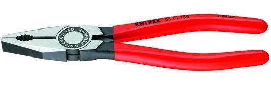 PINZE UNIVERSALI   03-01 MANICI PLASTIC Cod.3663018 - Knipex