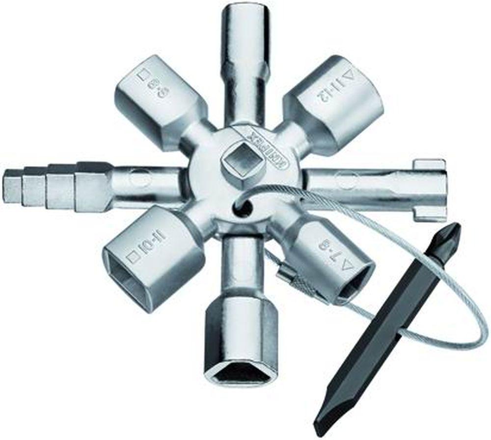CHIAVI P/QUADRI    0011TWINKEY 10 FIGURE Cod.3724608 - Knipex