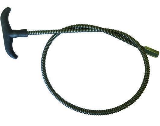 ASTE P/SCOVOLI FILETTO 12MAFERRO MOLLA-FLEXI Cod.4085005 - Vuemme
