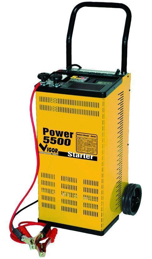 CARICABATTERIE   POWER 5500 C/RUOTE Cod.5327010 - Vigor