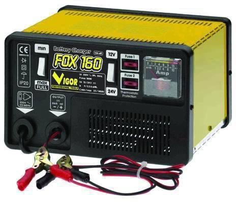 CARICABATTERIE   FOX 160 Cod.5320015 - Vigor