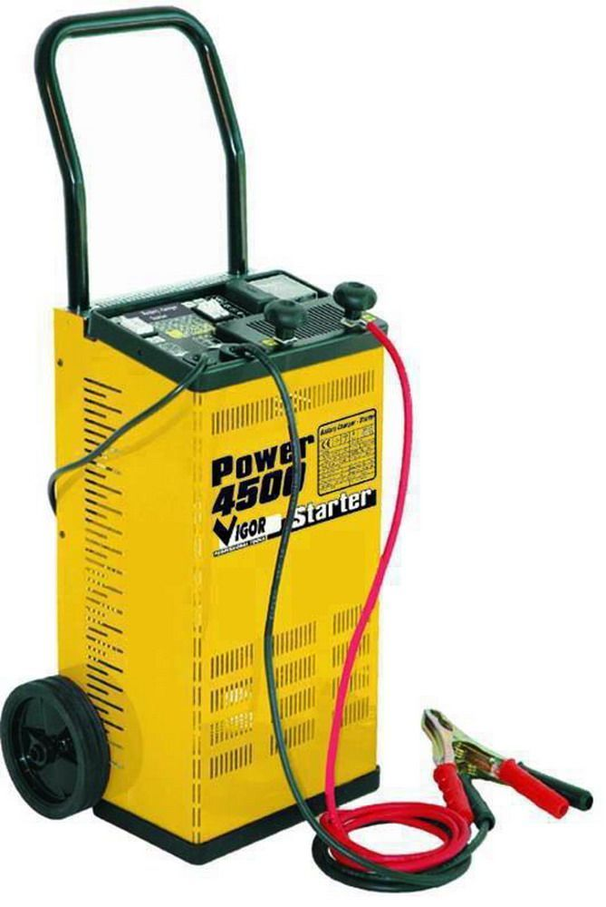 CARICABATTERIE   POWER 4500 C/RUOTE Cod.5326010 - Vigor