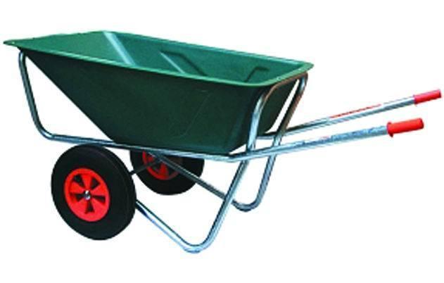 Carriole Vabor 170 2-Ruotevasca Verde Plastic_Cod. 5973410_Vuemme