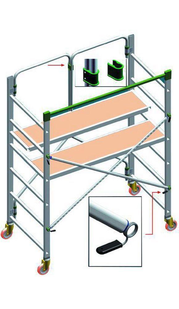 Trabattelli Alluminio   Piego Richiudibili_Cod. 5985510_Facal