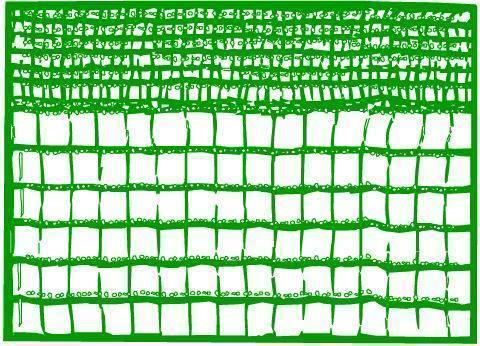 RETE P/OLIVE ARRIGONIVERDE DOPPIA TRAMA Cod.81404 - Vuemme