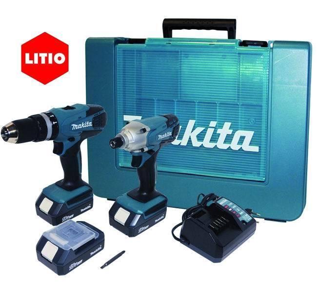 Trapani    Batteria Kitdk1815 Hp457D+Td127D_Cod. 8951239_Makita