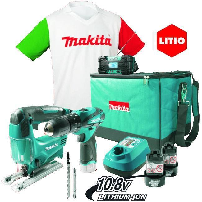 Avvitatori   Dk1496X1 Kit+Gift_Cod. 8951415_Makita