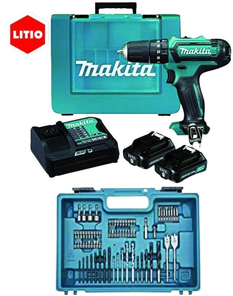 Avvitatori    Kit 74 Acc.Hp331Dsax1 10,8V 1,5_Cod. 8951412_Makita