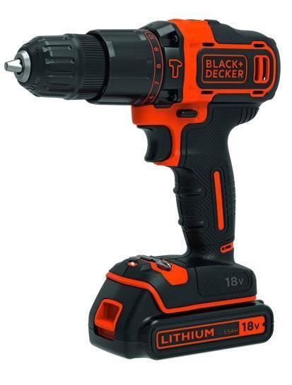 Trapani    Litiobdchd18Kb-Qw 2B/Perc_Cod. 8971050_Black & Decker