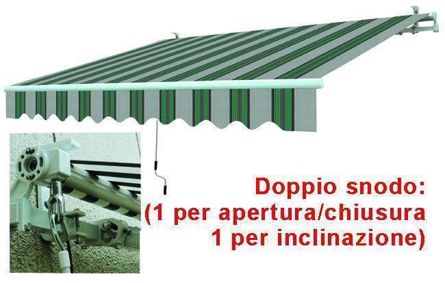 Tende Da Sole Avvolgibilia Sbraccio Bia/Verde_Cod. 9691230_Vuemme
