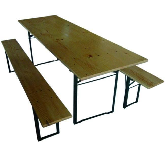Tavoli Legno Birreria   Mod.Amici 2 Panchine_Cod. 9692650_Blinky