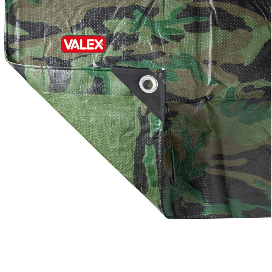 Telo Con Occhielli Mimetico 2X6 Mt Cod.1454155 - Valex