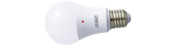 Lampadina Led Sensor Goccia 6,5 Watt E27 L.C. Cod.23002630 - Gbc