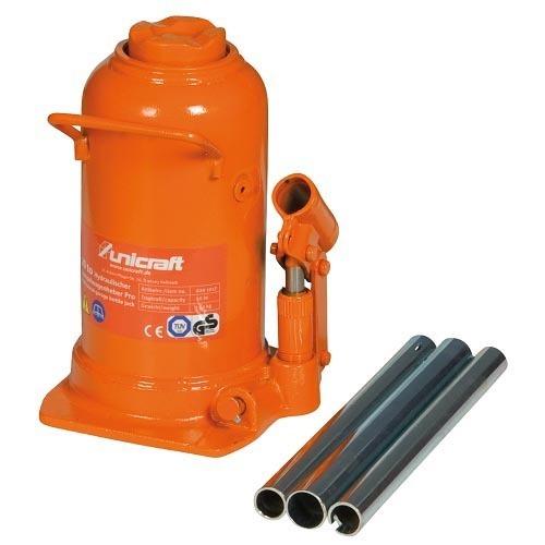 Cric A Bottiglia Modello HSWH-PRO 20 Per Uso Professionale - Portata 20 T - Altezza Max 521 Mm