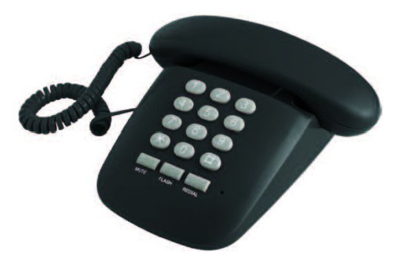 Telefono Sirio Nero  Cod.9029680 -  Brondi