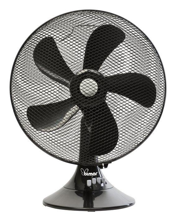 Ventilatore VT466.NE da tavolo 40 cm Nero Cod.9030442 - Bimar