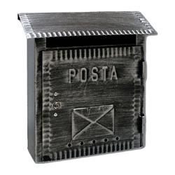 Alubox Cassetta postale Rustica E. 26x26,5 REECO