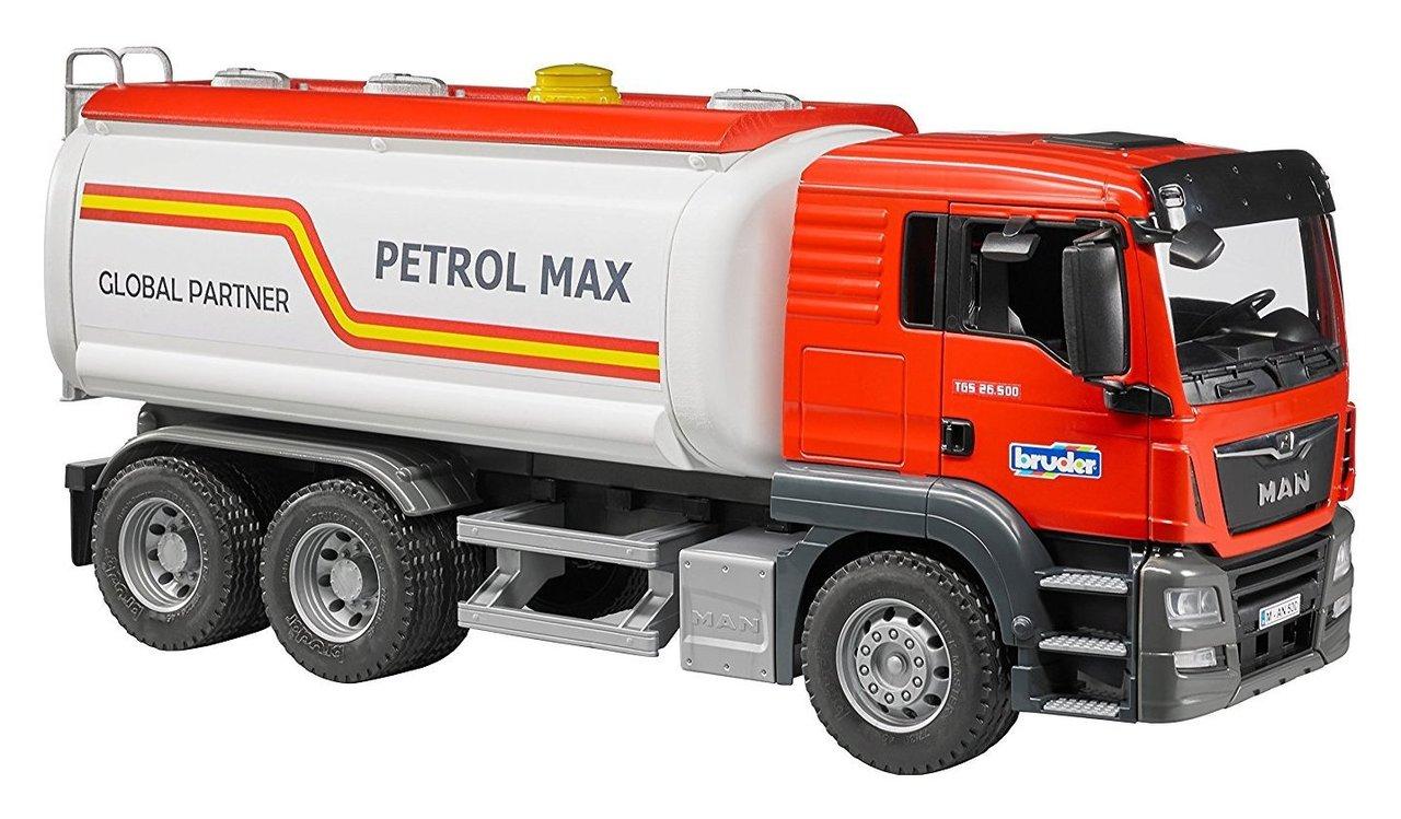 Camion e mezzi da lavoro Bruder Autobotte Man 3775