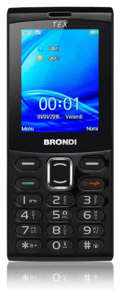 Cellulare Tex Doppia Sim - Litio 10273860 _Cod. 9029693_Brondi