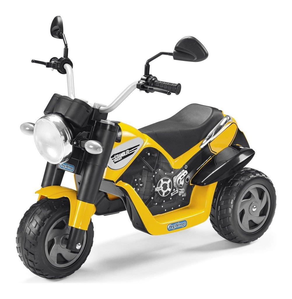 Moto elettrica Peg Perego Scrambler Ducati 6 volt Ed0910