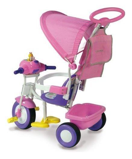 Triciclo Baby Plus Rosa con ruota libera 1497 rs  Cod.9029547 - Biemme