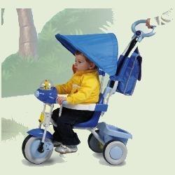 Triciclo Baby Plus Celeste con ruota libera 1497 Cl  Cod.9029548 - Biemme