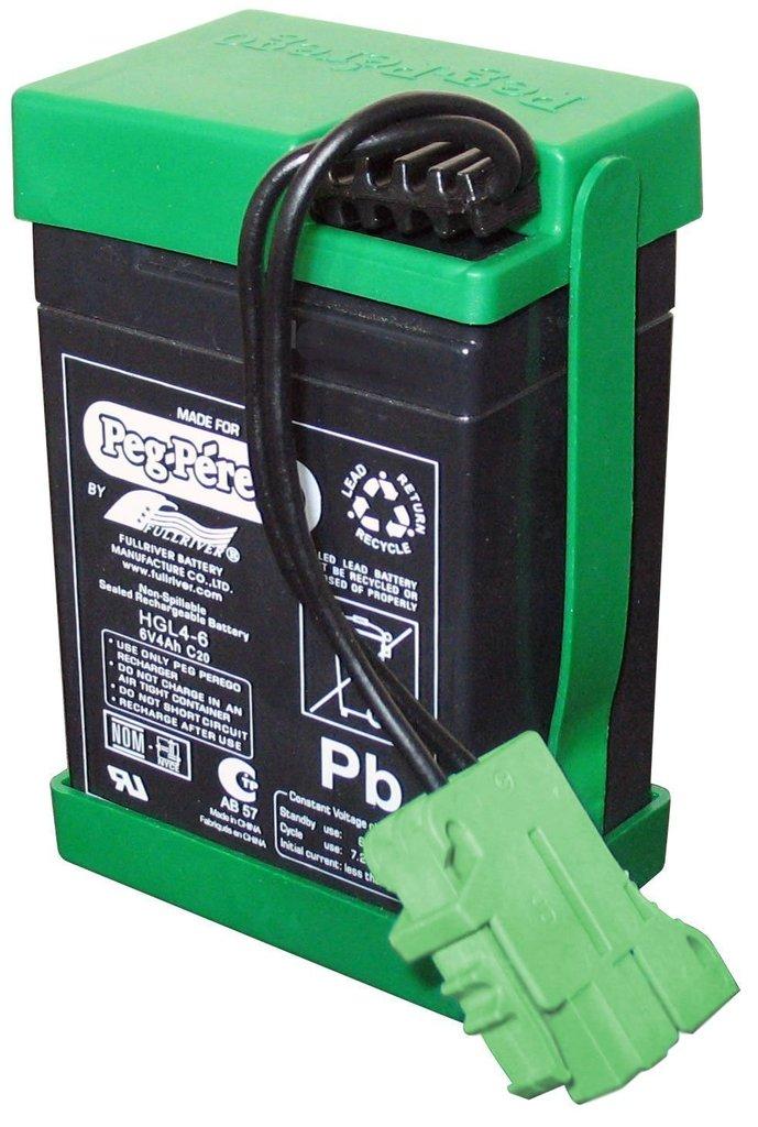 Batteria ricambio per veicoli Peg Perego 6 volt 4,5 ah KB0030