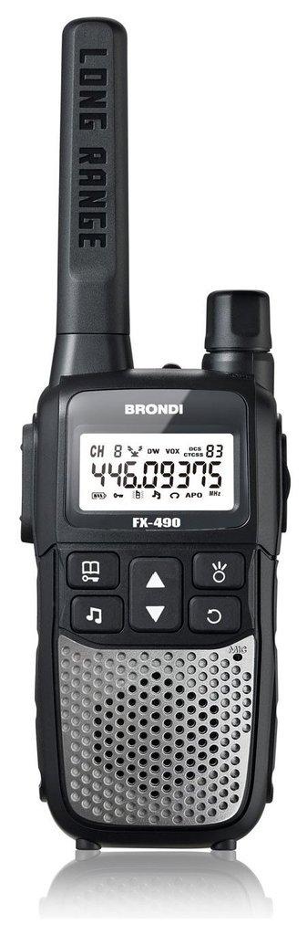 Ricetrasmittente Coppia Fx-490 - Pmr446 8015908908701 _Cod. 9029692_Brondi