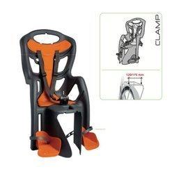 Bellelli Seggiolino posteriore con attacco CLAMP (portapacchi) Grigio Pepe 01 PPM 00002