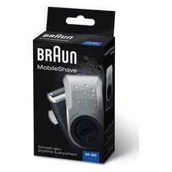 Rasoio A Lame Mobileshave M-90 Ricaricabile Blu, Argento _Cod. 9029554_Braun